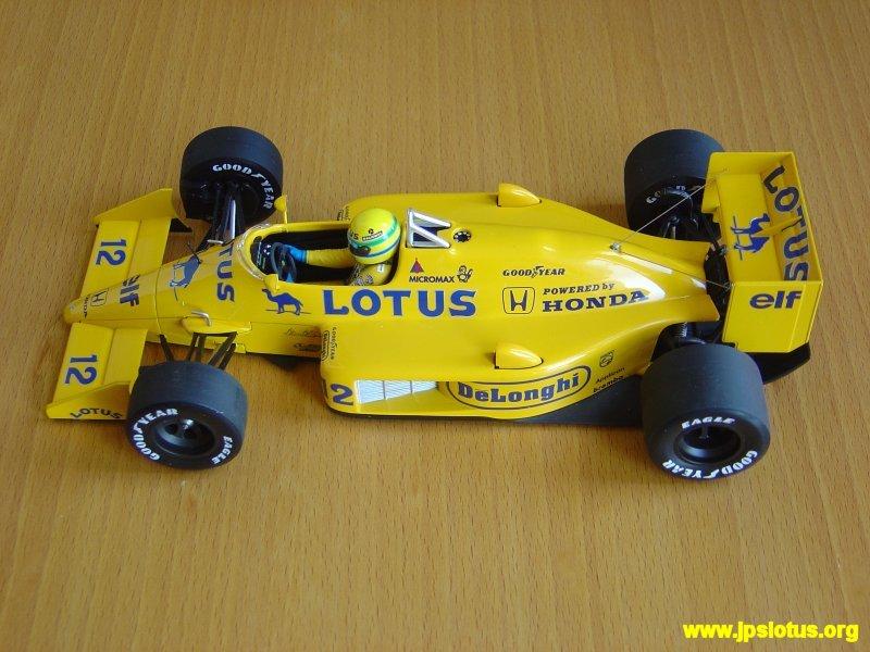 Senna, Camel 99T, 1986