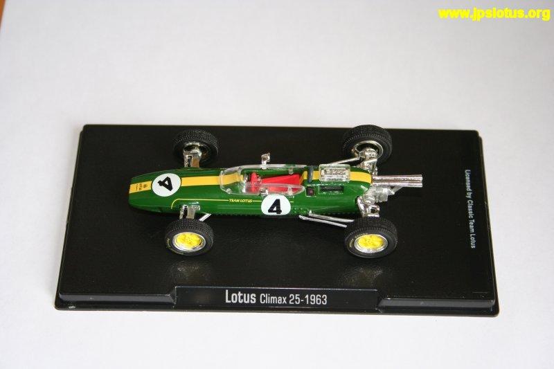 Clark, Lotus 25, 1963