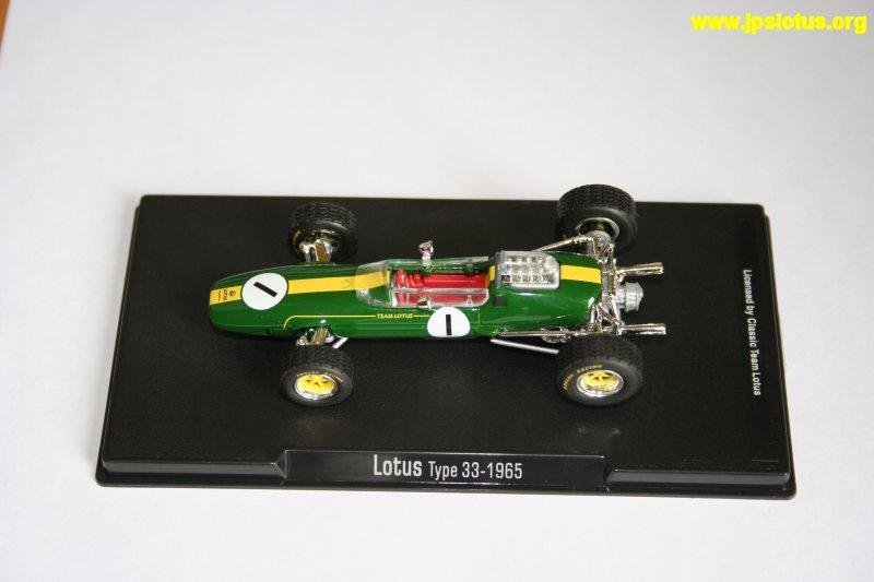Clark, Lotus 33, 1965