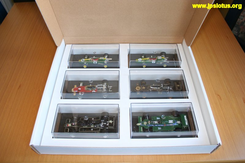 Classic Team Lotus Box Set