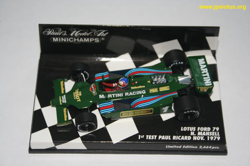 Mansell, Martini Lotus 79, 1979
