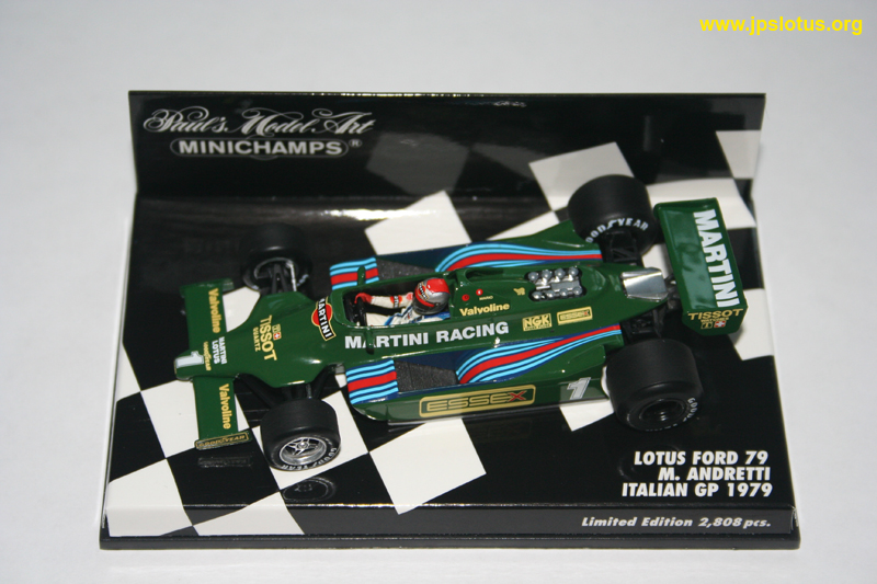 Andretti, Martini Lotus 79, 1979