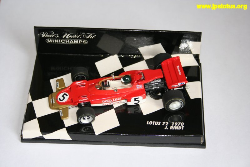Rindt, Gold Leaf Lotus 72, 1970