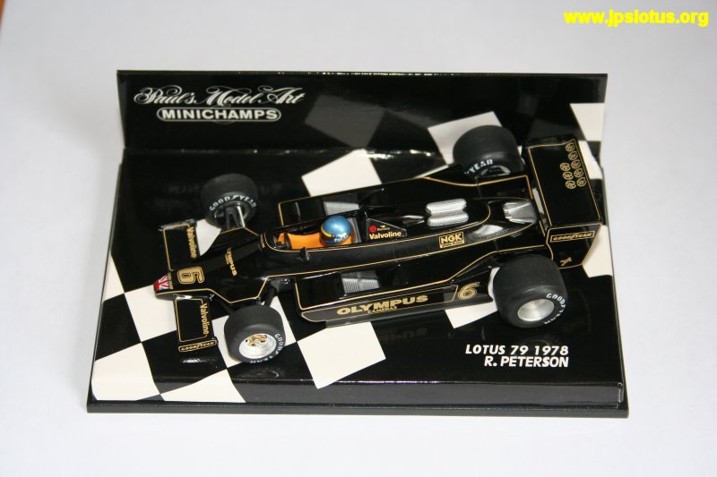 Peterson, John Player Special Lotus 79, 1978