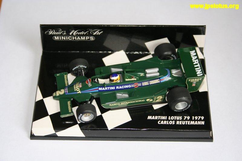 Reutemann, Martini Lotus 79, 1978