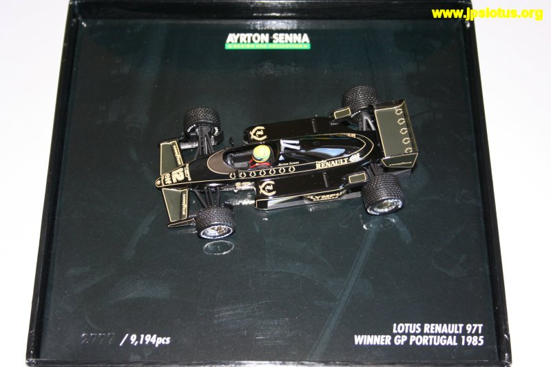 Senna, John Player Special Lotus 97T, 1985