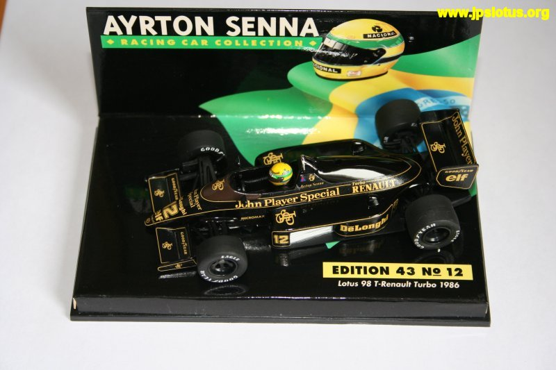 Senna, John Player Special Lotus 98T, 1986