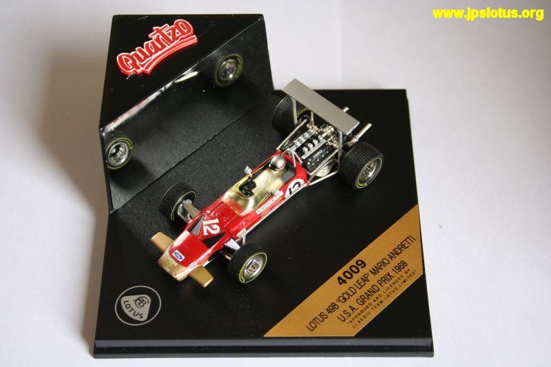 Andretti, Gold Leaf Lotus 49B, 1968