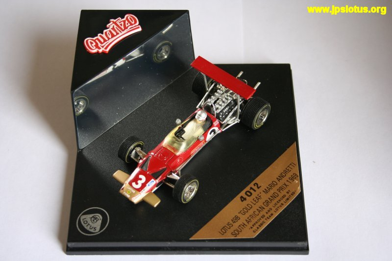 Andretti, Gold Leaf Lotus 49B, 1969