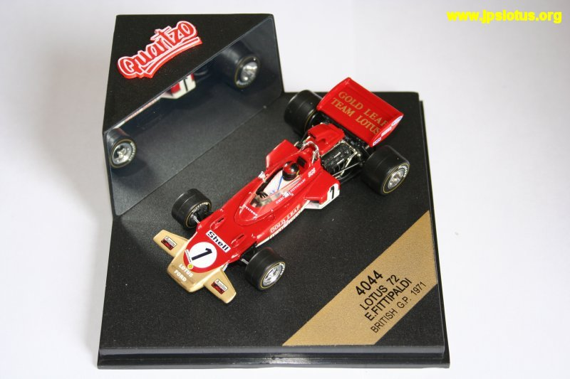Fittipaldi, Gold Leaf Lotus 72, 1971