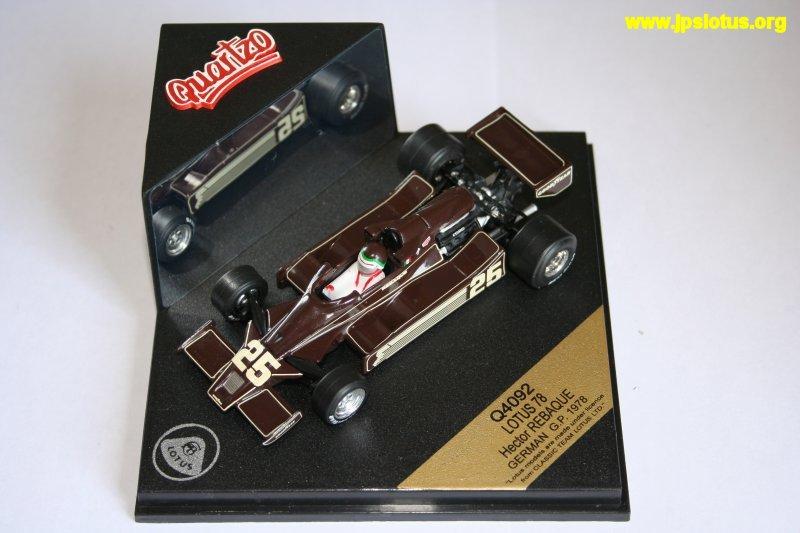 Rebaque, Lotus 78, 1978
