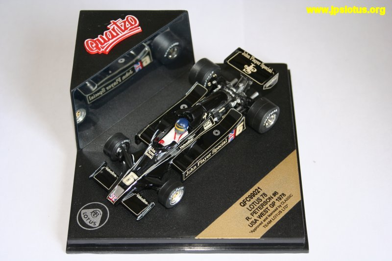 Peterson, John Player Special Lotus 78, 1978