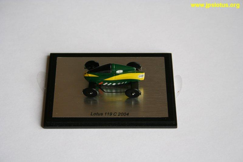 Lotus 119C, Goodwood Festival of Speed, 2004