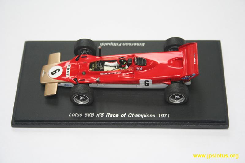 Fittipaldi, Lotus 56B, Race Of Champions, 1971