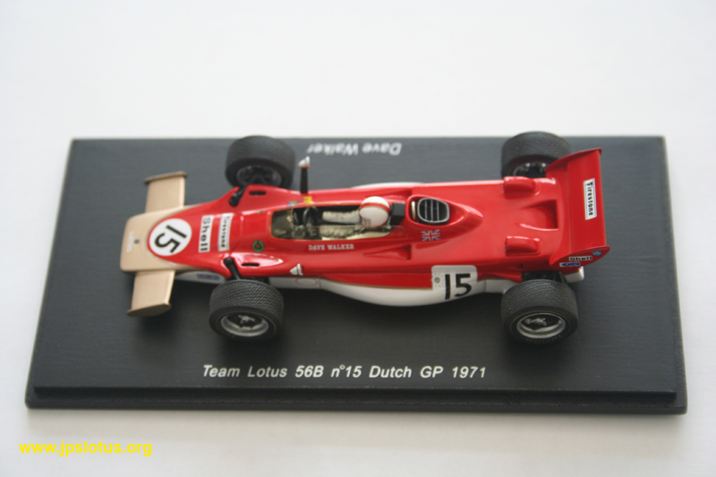 Walker, Lotus 56B, Dutch GP, 1971