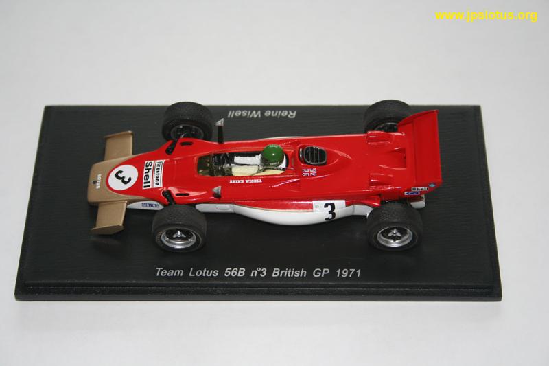 Wisell, Lotus 56B, British GP, 1971