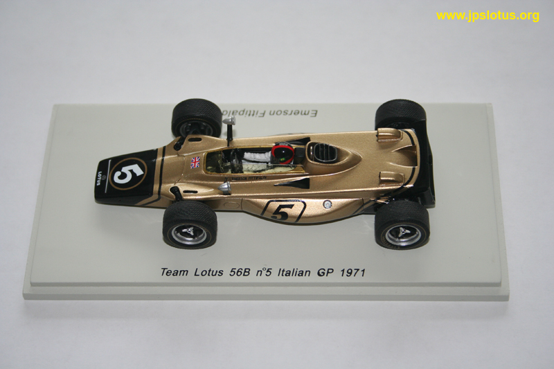 Fittipaldi, Lotus 56B, Italian GP, 1971