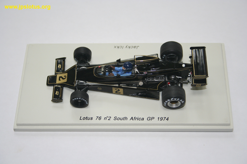 Ickx, Lotus 76, South Africa GP, 1974