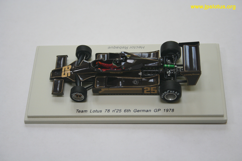 Rebaque, Lotus 78, German GP, 1978