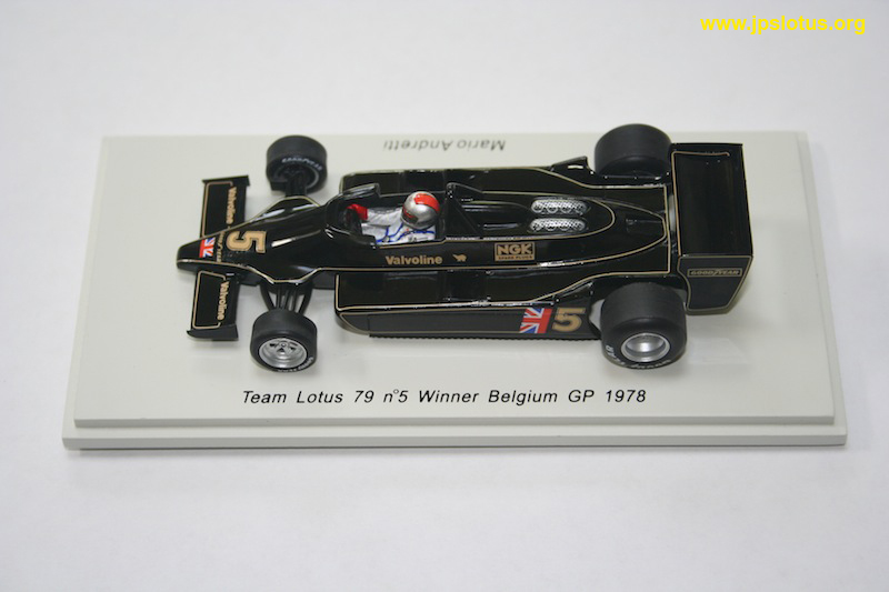 Andretti, Lotus 79, Belgium GP, 1978