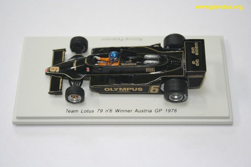 Peterson, Lotus 79, Austria GP, 1978