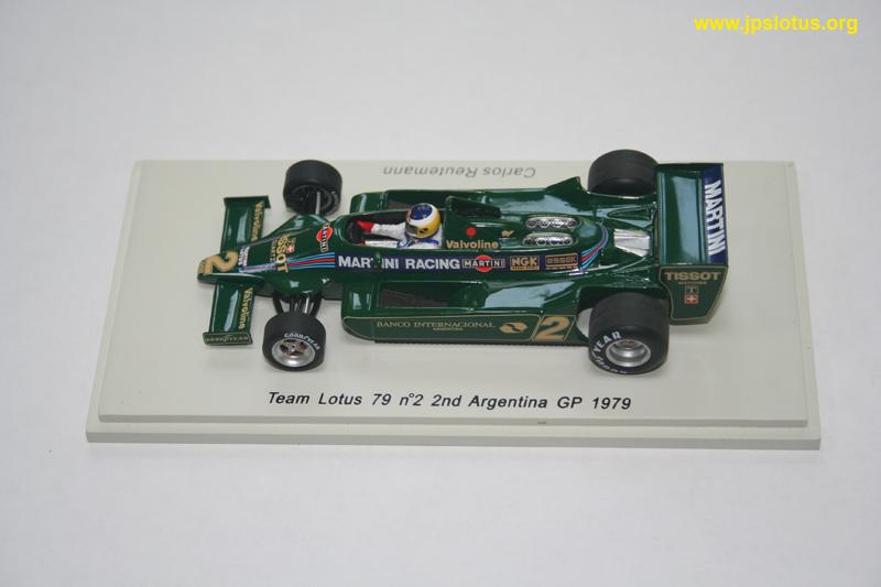Reutemann, Lotus 79, Argentina GP, 1979