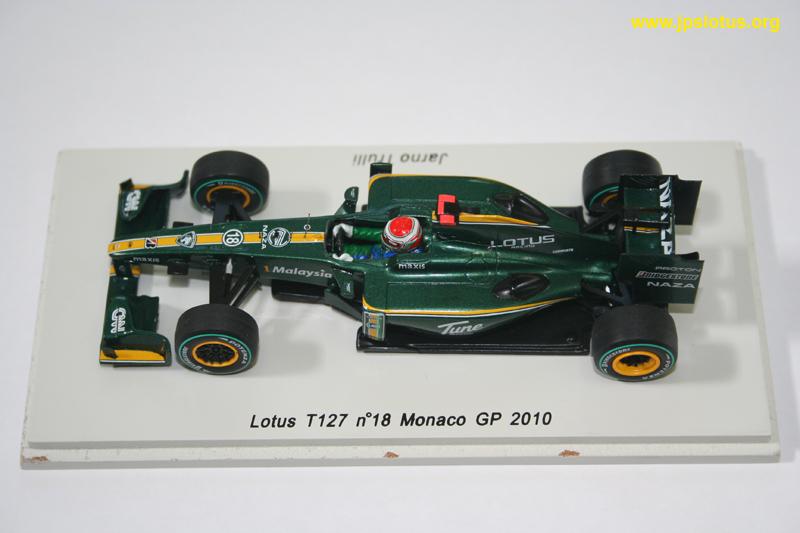 Trulli, Lotus T127, Monaco GP, 2010