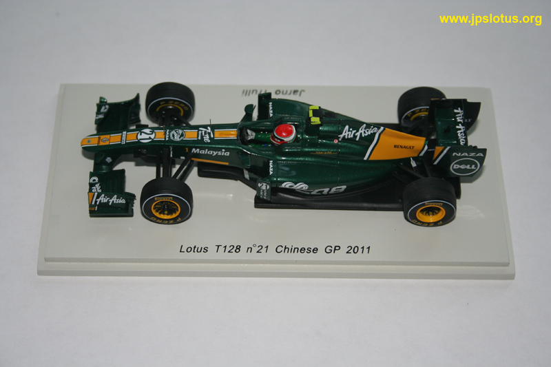Trulli, Lotus T128, Chinese GP, 2011